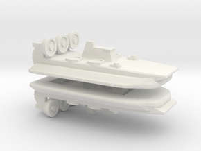 Zubr-Class LCAC x 2, 1/2400 in White Natural Versatile Plastic