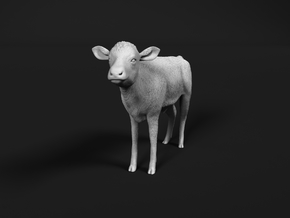 ABBI 1:87 Standing Calf in Smooth Fine Detail Plastic