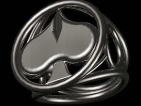 Size 14 0 mm LFC Spades in Polished Silver
