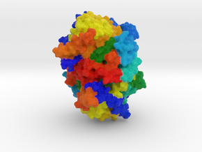 Reductive Dehalogenase in Full Color Sandstone