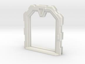 Sci-Fi Door Open (Extra Large) in White Natural Versatile Plastic