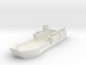 Landing Craft Tank LCT MK 6 1/200 in White Natural Versatile Plastic