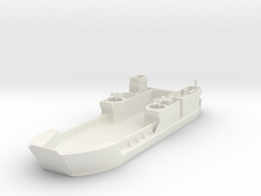 Landing Craft Tank LCT MK  6 1/285  in White Natural Versatile Plastic