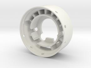 Speaker Holder in White Natural Versatile Plastic