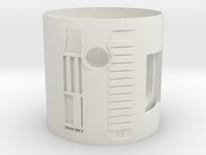 MR DM speaker Holder in White Natural Versatile Plastic