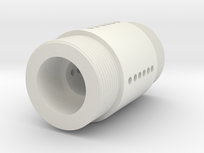 MR DM adaptor connector coupler in White Natural Versatile Plastic