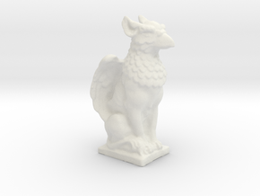 Griffin Statue in White Strong & Flexible: Small