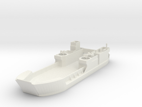 Landing Craft Tank LCT MK  6  1/144 in White Natural Versatile Plastic