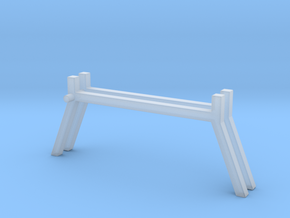 1/64 Ladder Rack 2 in Smooth Fine Detail Plastic