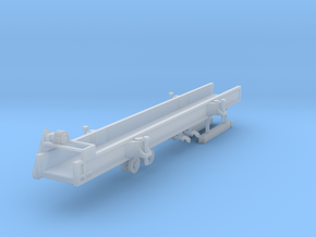 1/64 Double L 809 straight conveyor  in Smooth Fine Detail Plastic