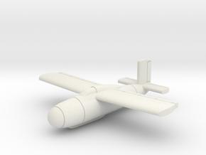 (1:144) Messerschmitt Me P.1104 in White Natural Versatile Plastic