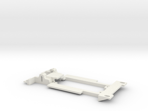 Carrera Universal 132 Lancia Beta Gr.5 Chassis in White Natural Versatile Plastic