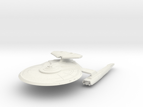 Alt Federation Hawk Class Refit  HvyDestroyer in White Natural Versatile Plastic