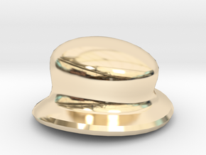 Eggcessories! Small Hat in 14k Gold Plated Brass