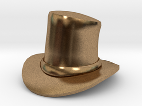 Eggcessories! Top Hat in Natural Brass