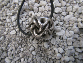 Vortex in Polished Bronzed Silver Steel
