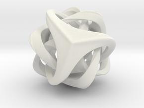 Trinitas in White Natural Versatile Plastic