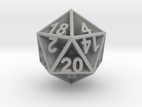 D20 - Plunged Sides in Aluminum