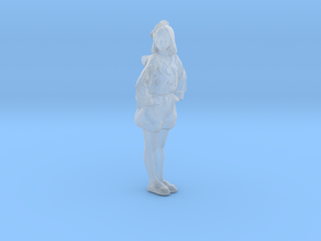 Printle C Femme 191 - 1/48 - wob in Smooth Fine Detail Plastic