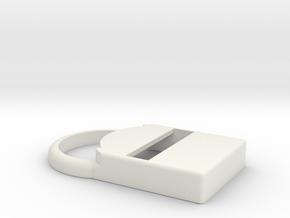 Kiwi – Shell for MiaoMiao (Libre): NO Armband!  in White Premium Versatile Plastic