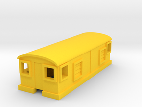 GE Electric Boxcab in Yellow Processed Versatile Plastic