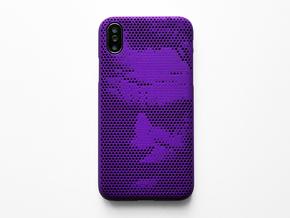 iPhone X case_Joker in Purple Strong & Flexible Polished