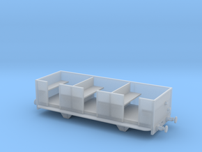 009 Talyllyn Open Carriage No 8-12 in Smooth Fine Detail Plastic