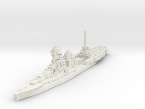 Ise -1944 Conversion (Hybrid Carrier/Battleship) in White Natural Versatile Plastic