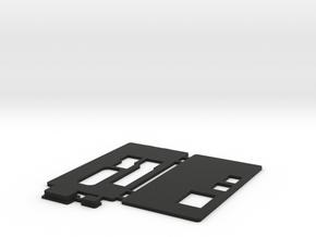 MiSTer - Case Universal v5.2 - Front/Back/Plugs in Black Premium Versatile Plastic