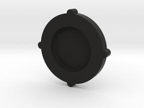 Tornado botom plate + center piece M30x1.5 in Black Natural Versatile Plastic