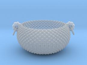 Citrus Bowl A 12 cm in Smooth Fine Detail Plastic