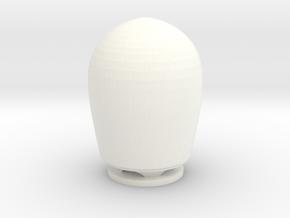 Satcom dome GW fregat 1-100 in White Processed Versatile Plastic