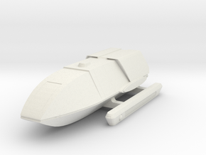 TMP Era Shuttle in White Natural Versatile Plastic