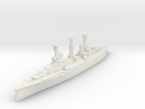 HMS Agincourt, Rio de Janeiro, Sultan Osman-ı Evve in White Natural Versatile Plastic