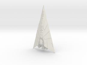 Pellaeon-class Star Destroyer 76mm in White Natural Versatile Plastic