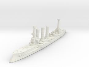 Bremen Class Light Cruiser (Germany) in White Natural Versatile Plastic