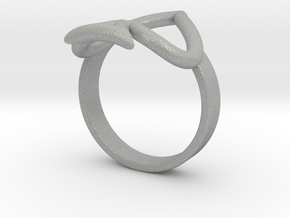 Simple Ace Ring in Aluminum: 6 / 51.5