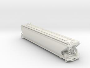 Hopper wagon CAH136  in White Natural Versatile Plastic