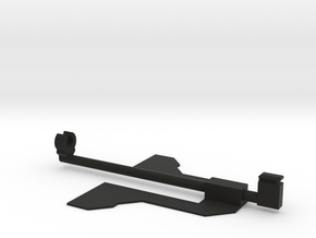 Rubber band Powered Paper Plane Body Mount in Black Premium Strong & Flexible: Extra Small