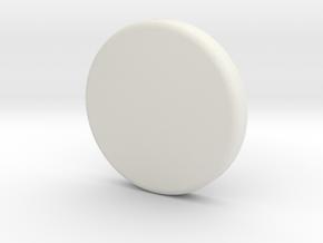 Light Bucket Light Cover Round in White Strong & Flexible: 1:10