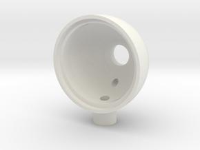5mm LED Light Bucket in White Strong & Flexible: 1:10