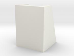 _8_Cylinderdisplay-30mm in White Natural Versatile Plastic