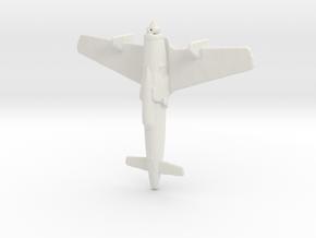 1:285  Kyushu J7W1 Shinden  in White Natural Versatile Plastic