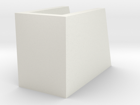 _8_Cylinderdisplay-60mm in White Natural Versatile Plastic