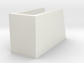 _8_Cylinderdisplay-75mm in White Natural Versatile Plastic