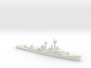 USS Turner Joy (DD-951), 1/2400 in White Natural Versatile Plastic