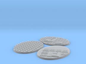 3X Lizard men 120-92mm bases in Smooth Fine Detail Plastic