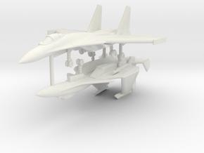 1/200 Sukhoi Su-33 (x2) in White Natural Versatile Plastic