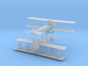 1/200 Avro 504K single-seat (x2) in Smooth Fine Detail Plastic
