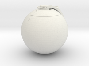 ET-MP grenade replica - 1:1 scale in White Natural Versatile Plastic